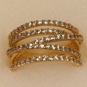 Stella&dot stellar pave ring